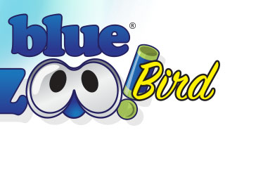 Blue Zoo Bird